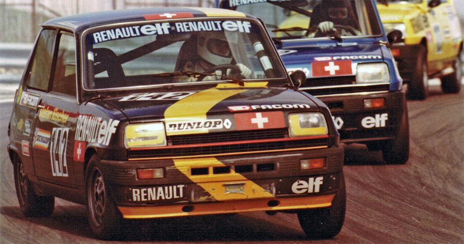 1981 gewann Stefan Lüscher den damals sehr hart umkämpften Schweizer Renault 5 Cup.