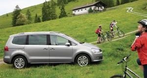 Bei den grossen Familienvans ist der VW Sharan der Erfolgreichste.