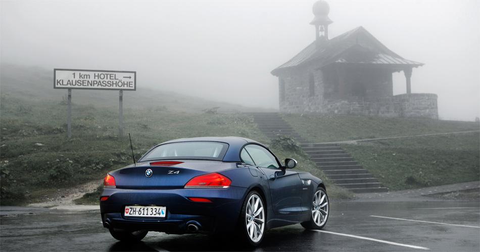 Stefan L 252 Schers Autoblog 187 Blog Archive 187 220 Ber Den Klausenpass Im Bmw Z4 28i In Einem Roadster