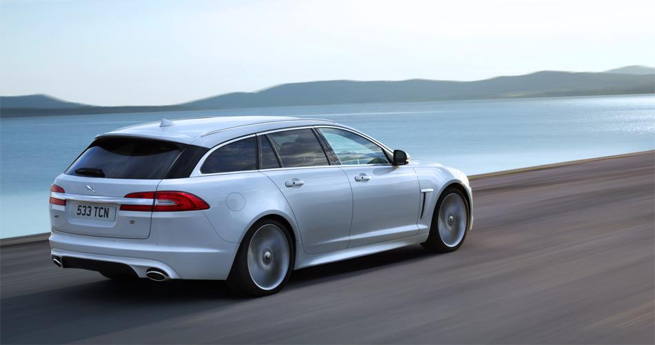 Das elegante Design des neuen Jaguar XF Sportbrake scheint uns ausgesprochen gelungen zu sein.