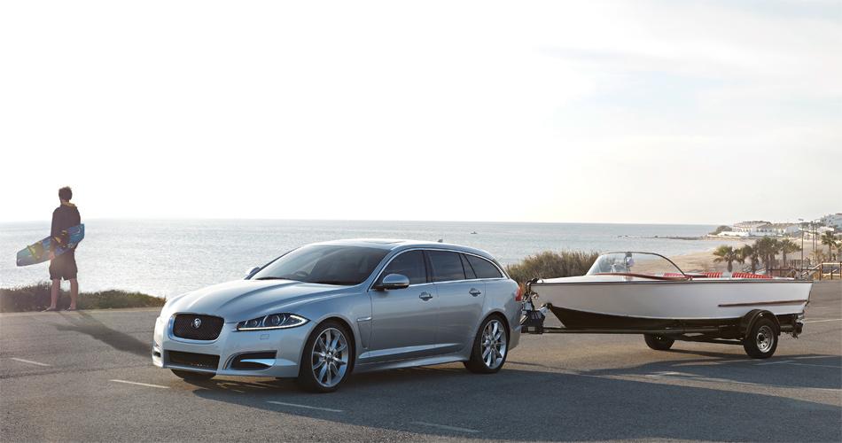 Das tut der Marke gut: Jaguar bringt mit dem XF Sportbrake einen Sportkombi, neue Motoren und Allradantrieb.