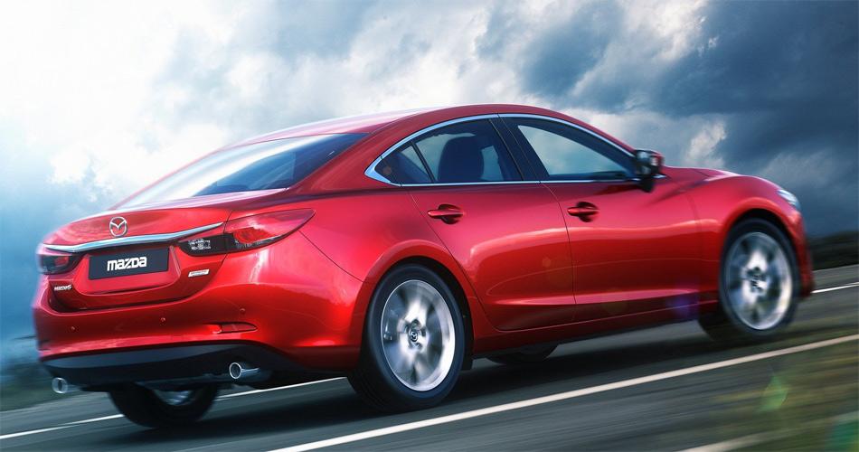 Die eleganten neuen Mazda6-Modelle basieren komplett auf der innovativen Skyactiv-Technologie.