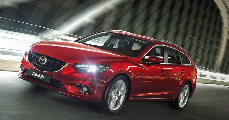 Der neue Mazda6 Kombi feiert am Autosalon Paris 2012 Weltpremiere.