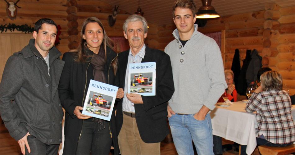 Neel Jani (Porsche LMP1), Simona De Silvestro (IndyCar), Stefan Lüscher und Nico Müller (World Series by Renault 3.5).
