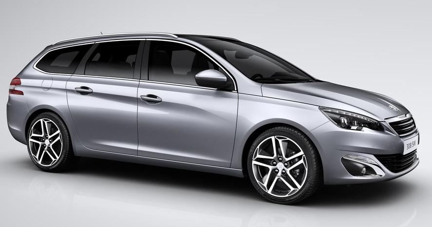 Der neue Peugeot 308 SW ist eine stattliche Erscheinung und ein ernstzunehmender Konkurrenz für den VW Golf Variant.